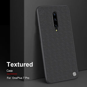 Case For OnePlus 7 / Pro Nillkin Soft TPU Frame & Hard PC Panel Textured Cover