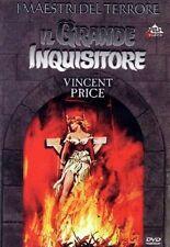 IL Grande Inquisitore DVD Nuovo Sigillato Vincent Price Pulp Video Raro