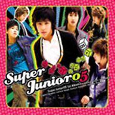 K-POP SUPER JUNIOR 1st Album [SuperJunior 05] CD + Booklet Sealed Music CD