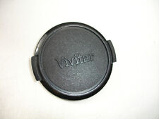 VIVITAR 49mm front lens cap Japan. Black logo