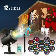 Outdoor Christmas Projector LED Light with 12 Patterns - Free P&P Ireland & UK!