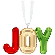 Swarovski 5223255 Christmas Joy Ornament Authentic, New