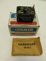 3A DPDT Solenoid Action New Old Stock 125VA Stancor 91-907 24VAC Coil Relay