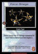Babylon 5 CCG - Force Omega  / Wheel of Fire