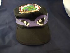 Vintage 1990 Teenage Mutant Ninja Turtles TMNT Donatello Painters Cap Hat Mirage