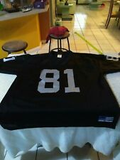 Tim Brown #81 Oakland Raiders Vintage Adidas Jersey Size Men's XL Football