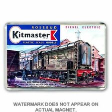 RETRO  KITMASTER DIESEL SHUNTER   KIT BOX  ARTWORK JUMBO Fridge / Locker Magnet