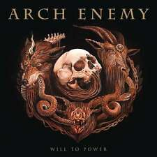 ARCH ENEMY WILL TO POWER GATEFOLD BLACK VINILE LP 180 GRAMMI +CD & BOOKLET NUOVO