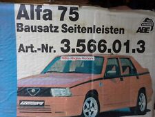 Alfa Romeo 75 zender side skirts new
