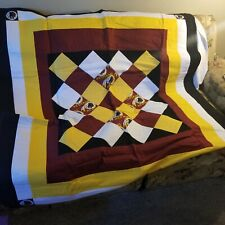 WASHINGTON REDSKINS QUILT/BLANKET - HAND CRAFTED