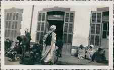 Algérie, Biskra, La Gare  Vintage silver print, Provenant d'un album de Vac