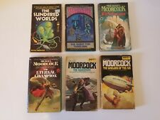 Lot of 6 Michael Moorcock Books Paperback - Science Fiction