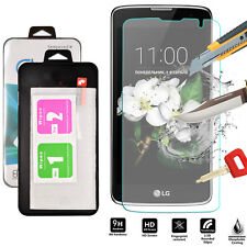 100% Genuine Tempered Glass Shockproof Screen Protector For LG K7
