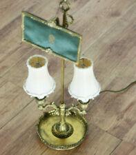 60er JAHRE TISCH LAMPE GRÜNDERZEIT ANTIK STYLE MESSING VINTAGE SHABBY CHIC (7470
