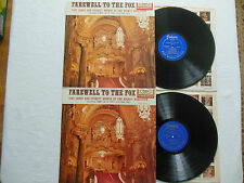 LOT OF 2- FAREWELL TO THE FOX: VOLUMES 1 & 2: 1st Edition STEREO on Fantasy  NM
