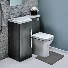 Memory Foam Contour Bathroom Toilet Mat Rug - Soft Anti Fatigue and Absorbent