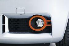 Genuine Suzuki IGNIS Front Fog Light Lamp Bezel Trim Set ORANGE 99000-99060-R03