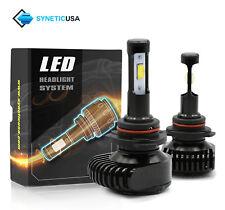 9005 Hi-Power CSP LED Headlight Kit 200W 20000LM High Beam DRL Adjustable Angle