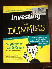 PAPERBACK BOOK Investing For Dummies 4th Edition Eric Tyson MBA 2006 Reference
