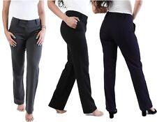 Ragazze Scuola Pantaloni Uniforme Donna Ufficio Lavoro Formale su Misura