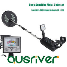 Deep Sensitive Metal Detector Underground Search Gold Coin Finder Digger Gift