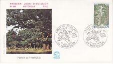 Enveloppe 1er jour FDC n°968 - 1976 : Forêt de Tronçais