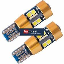 NEW LED UPGRADE T10 501 W5W 3030SMD 19 LED CANBUS** AMBER INDICATOR LIGHT BULBS