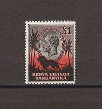 Kenya Uganda Tanganyika 1935-7 SG 123 MNH Cat £325