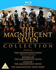 The Magnificent Seven Collection [Blu-ray] [1960] [Region Free] [DVD][Region 2]
