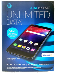 LG Xpression Plus - 16GB - Moroccan Blue (AT&T) Smartphone