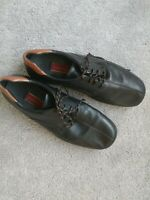 Black Cole Haans with brown trim Mens shoes size 13 M Leather