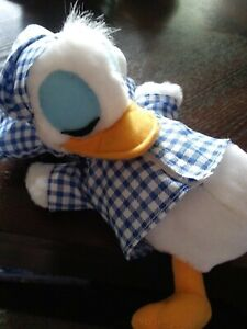 Disney Donald Duck Plush Doll Sleeping no tags