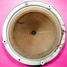 """vIntage GENERAL ELECTRIC J-1106 RADIO 14"""" SPEAKER - tested /repaired /  working."""