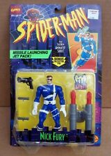 NICK FURY of S.H.I.E.L.D. 1995 Toy Biz Spider-Man Series Action Figure UNOPENED!