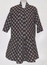 H&M Ladies Jacquard Fit & Flare Dress + Jacket Black Pattern Four (4) NWT