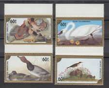 TIMBRE STAMP 4 MONGOLIE Y&T#1459-62 OISEAU BIRD  NEUF**/MNH-MINT 1986 ~B02