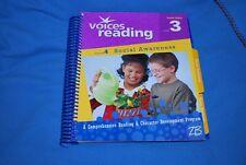 VOICES READING Theme 4 social awareness Grade 3 Teacher's Edition #542902