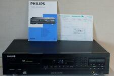 PLATINE CD LASER COMPACT DISC PHILIPS CD 692 1993 + NOTICE ORIGINALE