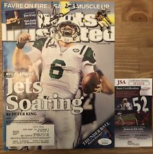 JIM IRSAY COLTS OWNER SIGNED JSA AUTOGRAPHED SPORTS ILLUSTRATED MAGAZINE