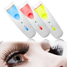 Electric Heated Eyelash Curler Battery Power Beauty Makeup Tool Long Lasting