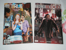 TWO (2) TRUE BLOOD COMIC BOOKS - TAINTED BLOOD & THE GREAT REVELATION  +TS+
