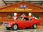 1972 Chevrolet Nova  1972 Chevrolet Nova – Red