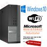 Dell Optiplex SFF Core i3 i5 i7 16GB RAM 2TB HDD SSD Windows 10 Desktop PC