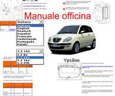 MANUALE OFFICINA Lancia Ypsilon WORKSHOP MANUAL SERVICE SOFTWARE ELEARN