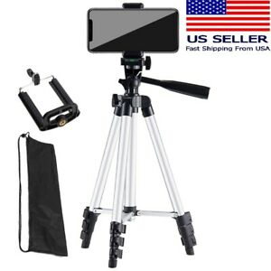 Camera Tripod Stand Holder Mount Bluetooth Remote For iPhone/Samsung Cell Phone