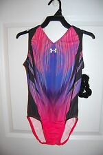 GK Elite Gymnastics Leotard - Under Armour  - Adult Large - Vitality