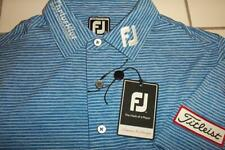 NWT TITLEIST FOOTJOY TOUR POLO GOLF SHIRT MENS SMALL ATHLETIC FIT