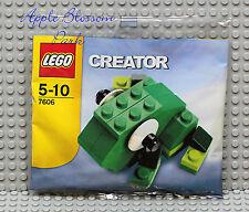 NEW Lego Creator Mini TREE FROG Set 7606 -Green Head w/Big White Bug Eyes - RARE