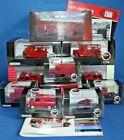 11 X LONDON FIRE BRIGADE ENGINES & VEHICLES - 1/76 scale OXFORD / ATLAS MODELS