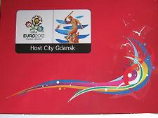 AK  FUSSBALL - EM 2012 - DANZIG - FROM GDANSK WITH LOVE  - neu -